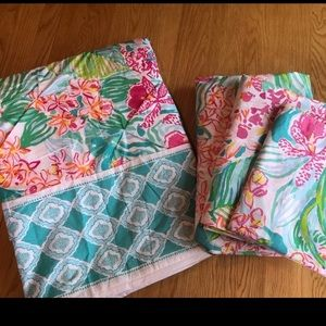 Lilly Pulitzer Duvet & Sheet Set